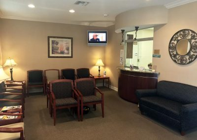 Peace River Cardiovascular Waiting Room