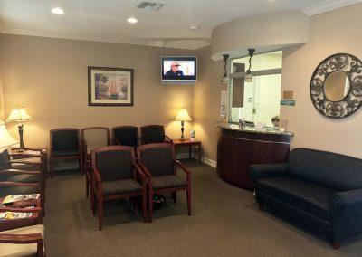 Peace River Cardiovascular Waiting Room